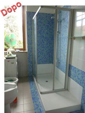 Trasformazione della vasca in doccia novabad azienda specializzata in lavorazioni mini - Finestra vetrocemento ...