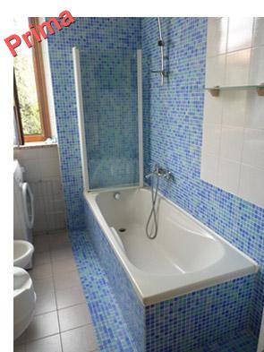 Miscelatore vasca da bagno con doccia