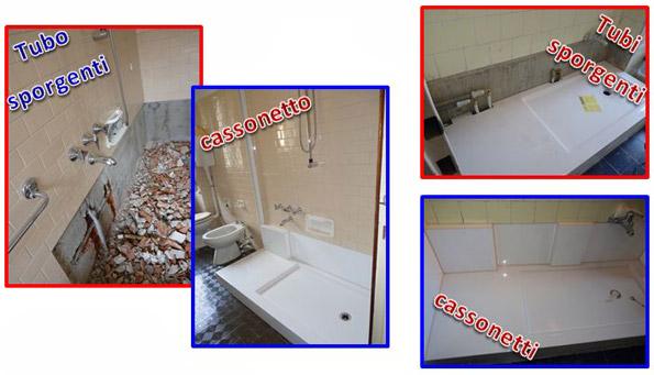 Sostituzione vasca con doccia trasformazione vasca in doccia