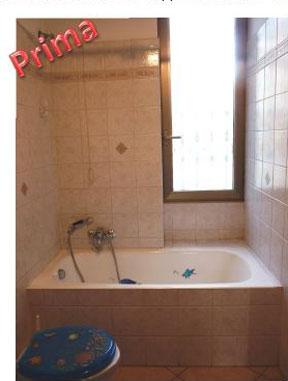 Trasformazione della vasca in doccia - NOVABAD - Azienda specializzata in lav...