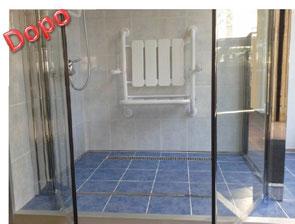 Trasformazione della vasca in doccia novabad azienda